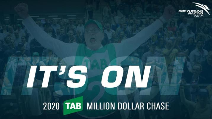 2020 TAB MILLION DOLLAR CHASE ANNOUNCED