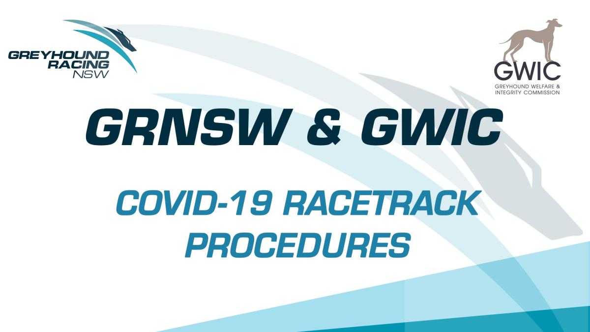 ATTENTION PARTICIPANTS - COVID-19 RACETRACK PROCEDURES