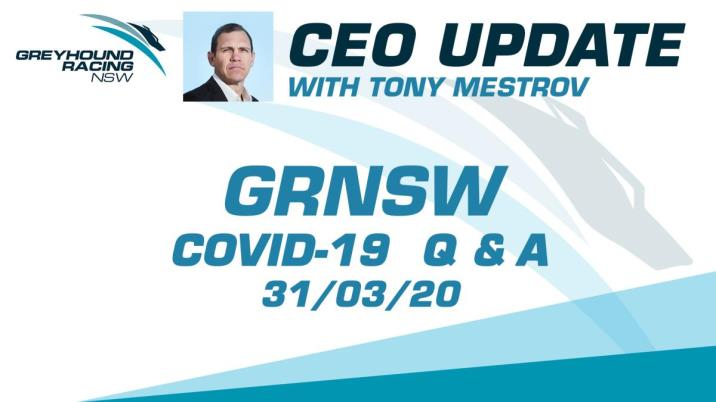 GRNSW - CEO UPDATE 31/03/2020