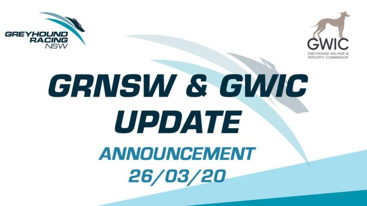 GRNSW & GWIC ANNOUNCEMENT