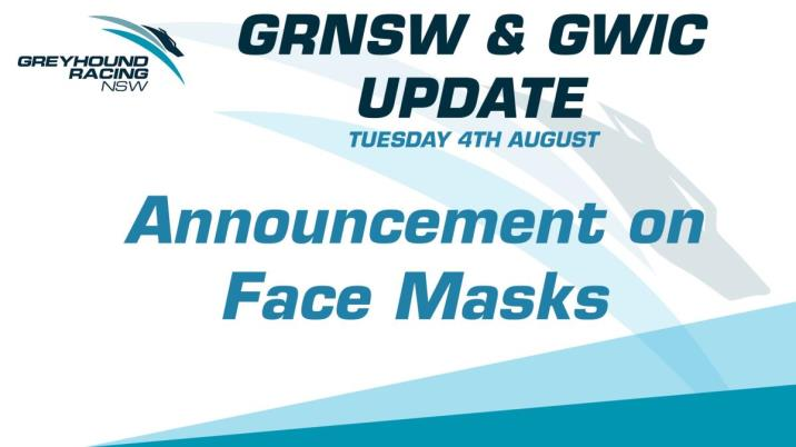 GRNSW & GWIC FACE MASK ANNOUNCEMENT