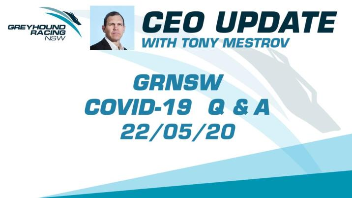 GRNSW CEO UPDATE 22/05/2020