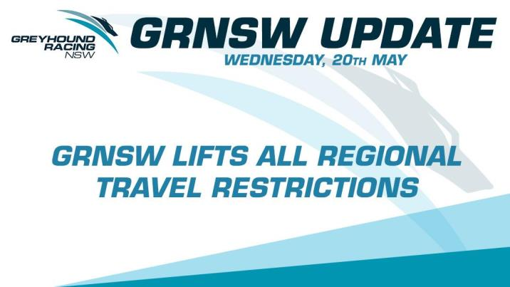 GRNSW LIFTS ALL REGIONAL TRAVEL RESTRICTIONS