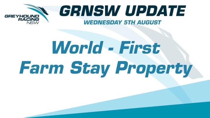 GRNSW SECURES WORLD-FIRST FARM-STAY FACILITY