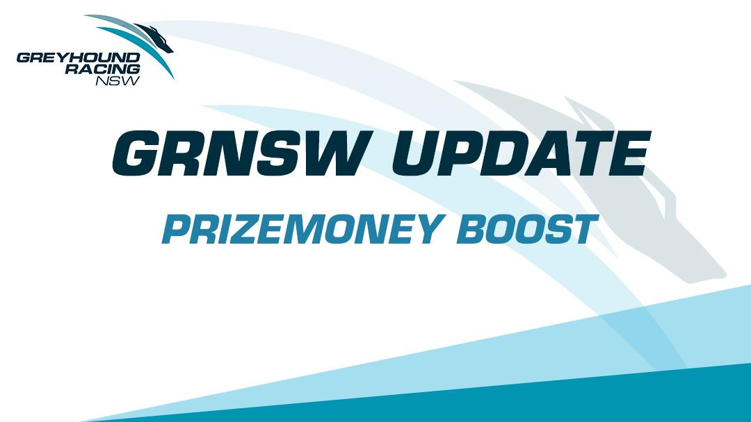 GRNSW UPDATE - PRIZEMONEY BOOST